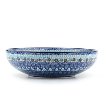 Serving Bowl Blue Coral